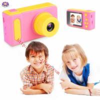 Quality Mini 2 Screen 100° Angle Lens 1080P HD Children Kid Camera for Photo Video Game Made In China for sale