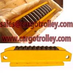Quality roller skids crawler type means go straight roller skate for sale