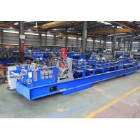China 1.5mm - 3.0mm Galvanized Steel C Purlin Forming Machine With Chain Drive on sale