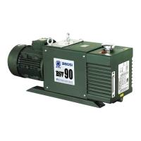 Quality BSV90 (90m3/h) Double Stage Oil Sealed Rotary Vane Vacuum Pump for SF6 Recovery System for sale