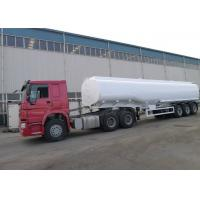Quality HOWO Brand Oil Tank Trailer Right / Left Hand Truck ZZ1251M4641W ISO Approved for sale