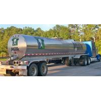 Quality 304 Stainless steel water milk  tanker trailer Stainless Steel Tanker Trailer For Milk and Edible oil App:8615271357675 for sale