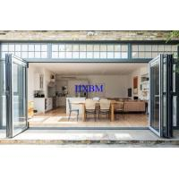 Quality Shopping Mall External Bifold Doors Large Opening Area 6063 -T5 Aluminum Profile for sale