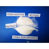 China Sodium Sulfite Chemical Formula Na2SO3, Antimicrobic Sodium Sulfite Anhydrous  For Food on sale