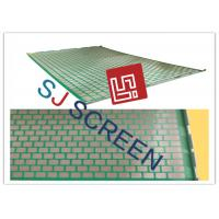 Quality 2000 48- 30 PWP Shale Shaker Screen Durable 2-3 Layers 1053x697mm Size for sale