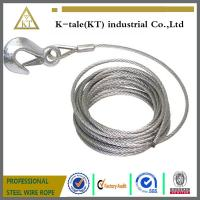 Quality 6*19+IWS 4.0mm Lifting Sling/304 stainless steel wire rope sling for sale