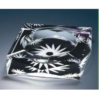 Quality Engraved Crystal Cigar Ashtray (JC10026CCA) for sale