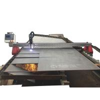 Quality Gantry Type CNC Plasma Cutter / Plasma CNC Machine 25mm Cutting Thickness for sale