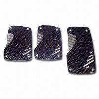 Quality Car Aluminum Pedal Pad, Increases Traction Underfoot for Better Pedal Action for sale