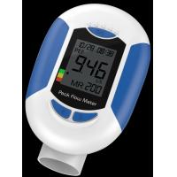 Quality Clear display PEF FEV1 FVC examining lung function Handheld Peak Flow Meter for sale