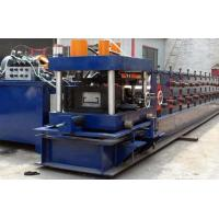 Quality 6 Tons Total Weight CZ Purlin Roll Forming Machine With Sheet Metal Straightening for sale