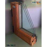 Buy High grade Three layers glass Aluminium Window Profiles in apartment building at wholesale prices