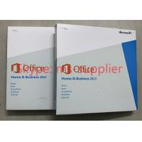 Quality Genuine Office 2013 Retail Box , Microsoft Office Professional 2013 Software for sale