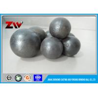 Buy cheap Grinding media ball , B2 B3 B4 B7 forged steel grinding balls for Mining from wholesalers
