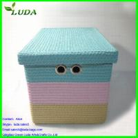 Quality Candy color laundry storage box for sale