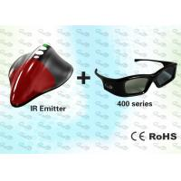 Quality IR 3D PC Solution with HD 3D Glasses and 3D Emitter for sale