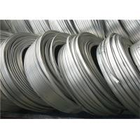 Buy High Potential magnesium anode zinc ribbon anode For Buries Structures at wholesale prices