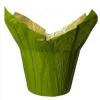 222 & Green Natural Kraft Paper Flower Pots Cover / Small Indoor ...