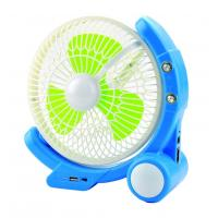 Quality High Brightness Emergency LED Rechargeable Fan Long Life Time for sale