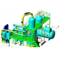 Electricity Heating Waste Oil Distillation Plant Easy Operation Without Chemical Used