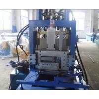 Quality CE Certificated CZ Purlin Roll Forming Machine , Roll Former Machine for sale