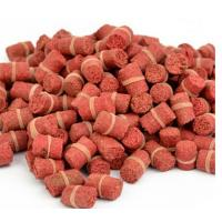Quality Hot Selling! Granular Red Smell Grass Carp Baits Crucian Fishing Baits Fishing Lures for sale