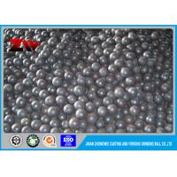 Quality Industrial High chrome cast iron balls high cr low cr for cement plant for sale
