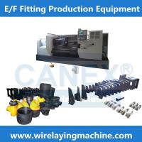 Buy cheap pe fused pipe fitting mould-electrofusion fitting winding machine from Wholesalers