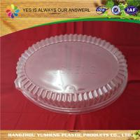 Quality BOPS / PS Clear Plastic Lids , Clear Plastic Jars Lids For Plastic Tray Black / Clear for sale