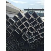 Quality Anneal Surface Structural Steel Square Tubing , 304 Seamless Mild Steel Square Tube for sale