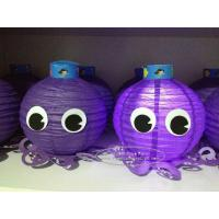 Quality Octopus Paper Lantern For Children Toys Hanging Indoor Or Outdoor for sale