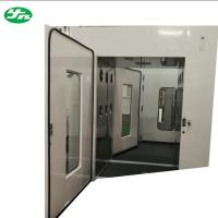 High Performance Air Shower Pass Box Electronic Plant Passing Cabinet