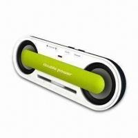 China Portable Speaker with 3.5mm Stereo Jack for Apple's iPod/MP3 Player on sale