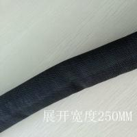 Quality Flexible self wrapping braided sleeving Split Semi-Rigid Cable Sleeving for sale