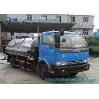 Quality Furuika 2 Axles 4000 L Bitumen container semi trailer Dongfeng Chassis for sale