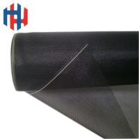 Quality Black color fiberglass insect screen for windows for sale