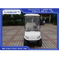 Quality 6V /170Ah Free Maintain Battery Electric Golf Club Cart With PC Windshield for sale