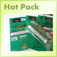 Quality customized empty tobacco pouches with ziplock/hand rolling tobacco bag pouches manufacture in China for sale