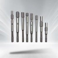 China Top Hammer Threaded Shank Adapter For Rock Drill Rig Mining on sale