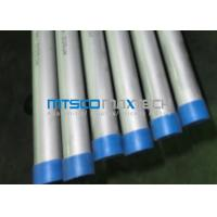 Quality ASME SA789 Seamless Steel Tube Cold Rolled Process Method PED for sale