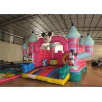 Quality Mickey Mouse Kids Inflatable Bounce House 4.5 X 5 X 3.5m For 3 - 15 years Old Children for sale