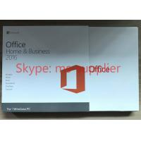 Buy cheap Original Microsoft Office Home and Business 2016 for 32 / 64 Bit OEM New Key from wholesalers