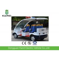 China Eco Friendly Electric Sightseeing Car With 4 Wheels / Radio And MP3 Player on sale