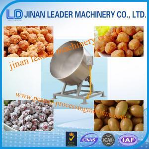 Quality Electric Heating Peanut Coating Machine , NutsSugarChocolate Coating Machine for sale