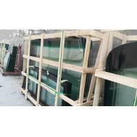 China Tempered Bus Windshield Replacement , Custom Bus Glass Replacement Precise Design on sale