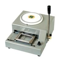 China Credit card embosser on sale