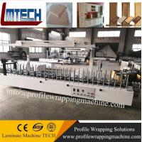 Quality wooden Picture Frame profile wrapping machine with good quality for sale