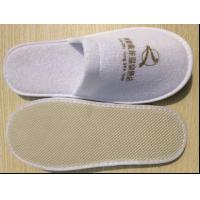 Quality terry disposable slipper with logo for sale