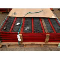 Quality Carbon Steel Anti Clogging Mesh Screens , Manganese Self Cleaning Screen Mesh for sale