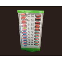 Quality Morden Acrylic Cosmetic Display Stand AD2 , Promotional Free Standing Display Stands for sale